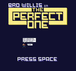 The Perfect One - Title Screen by Nekith