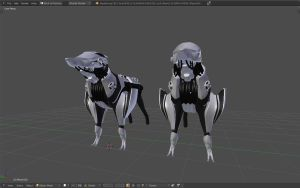 Scout dog wip 4 by betasector