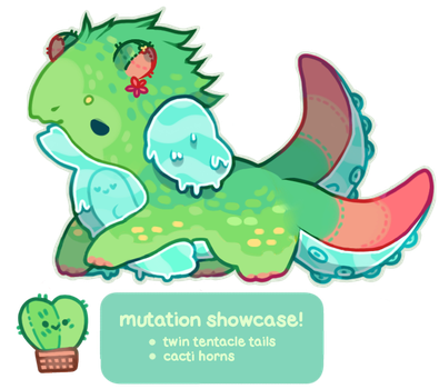[Mutation Showcase!] Moosh Gachagoop by moonbeani