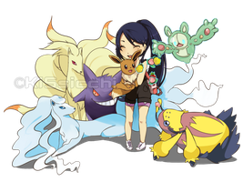 Pokemon OC: Are You Ready For Alola:. by KiSsicchi