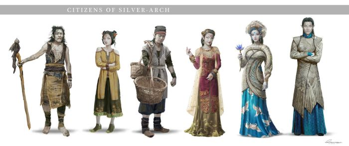 C.O.T:  Silver Arch Citizens by wang2dog
