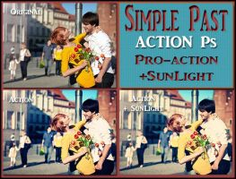 Simple past ACTION Ps by Laurent-Dubus