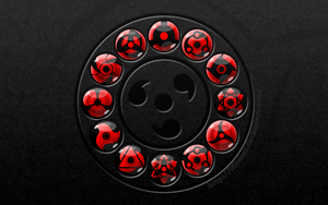 Wallpaper: Sharingan circle2 by lilomat