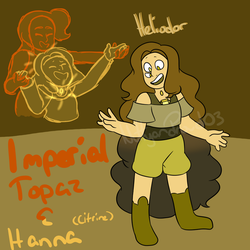 Heliodor (Imperial Topaz and Hanna) by NuttyandProud03