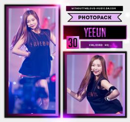 Yeeun #1 (CLC) |PHOTOPACK| by WithoutTheLove-Music