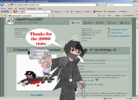 Thanks 4 more than 2000 visits by DarkPrince2007