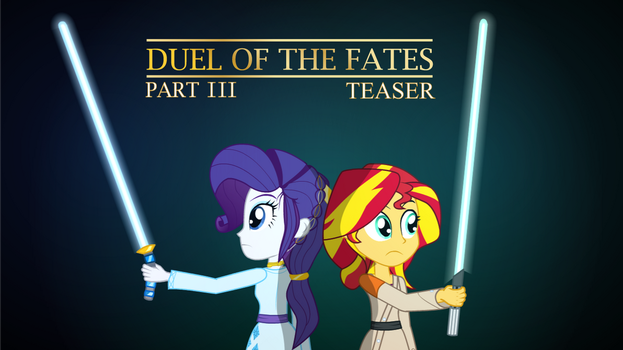 [Teaser Animation] Duel of the Fates Part 3 by Amante56