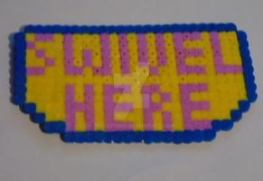 Swivel Here in hama beads by THECLOUD96