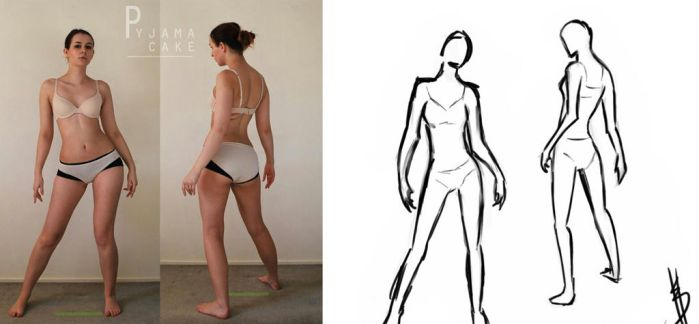 Character Design: Gesture Drawing by Nevarra13
