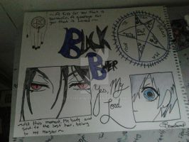 Black Butler by ToxicKiwii