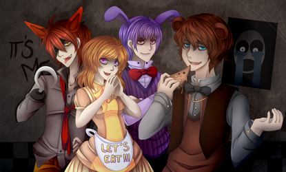 +FNAF+ Let's play by Sallynyan