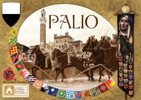 Cover for the game 'Palio' by Erebus-art
