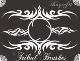 Tribal Brushes by UsagiAFN