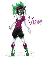 Vizor: Official Ref by TheWickedWordsmith