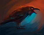 The raven by GreenBreen
