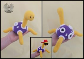 Mini Shuckle custom Plush by BoiraPlushies