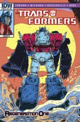 Transformers Regeneration One #85 - Retro Cover by GuidoGuidi