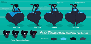 Jade Pennyworth Body Reference and Bio by oneitvan