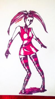 Marker Sketch by Pheon123
