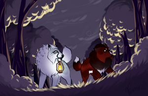 [CE - Scavenger Hunt] Spoopy Forest by Furreon