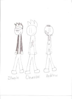 The Awesome Three by Cleverdan54