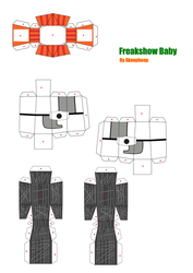 Freakshow Baby Papercraft (3) by aknupheap