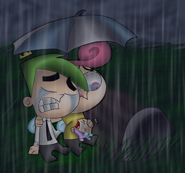28 Days of FOP- 5- The Death of Timmy Turner by Kops-the-Jidiot