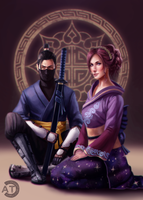 [CM] Melysande and Ryu by bearcub
