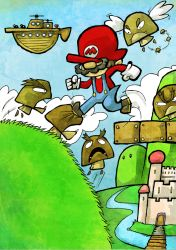 Super Mario Bros 3 - Grass Land by Hanogan