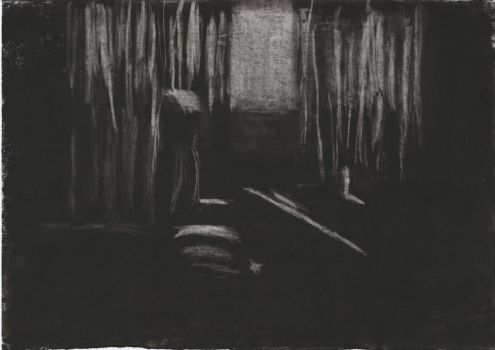 Light and Shadow Study - Charcoal Sketch #3 by FilipaPT