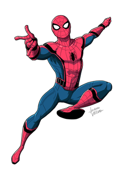 Spider-Man Homecoming by LucianoVecchio
