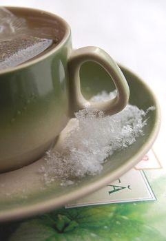 Green Tea And Snow by Alexandru1988