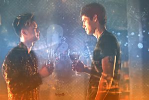 Malec - Shadowhunters by letydb