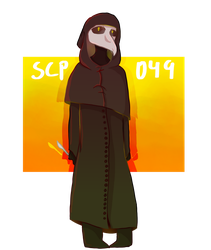 Scp-049 by grimgalaxies