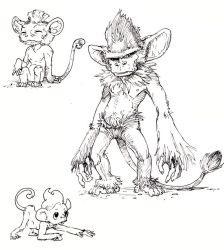 Simisage and other monkeys by Eolkh