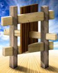 Impossible wood construction by robinreithmayr