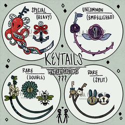 (CS) Keytails | Mystery Customs | CLOSED by Chaunter