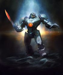 Gipsy Danger by darioid