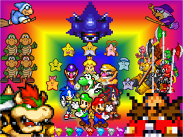 Super Mario Bros Z poster by Docdanny96