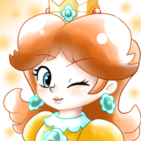 Princess Daisy by GeekytheMariotaku