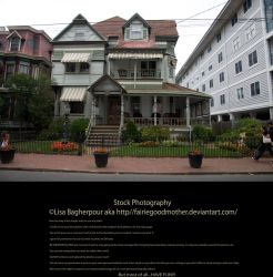 Historical Houses Stock 10 by FairieGoodMother