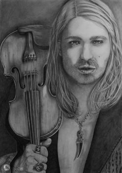 David Garrett by TinasArtwork