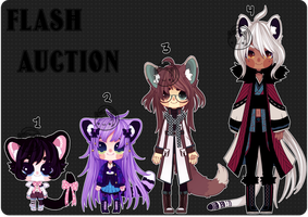 Flash Auction (closed) by Kariosa-Adopts