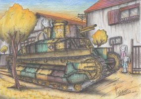 Type 89 Kou Tank by Patoriotto