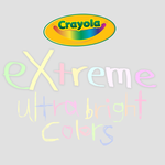 Crayola eXtreme colors ultra bright PS palettes by Brandondorf9999