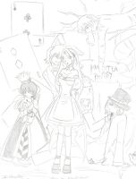Mad tea party-sketch 2 by kocoum