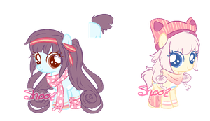 :ADOPT: Cute Fillies :CLOSED: by NaviPixels