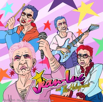 Jean-Luc and the Holograms by mistressmariko