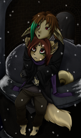 'I'm cold...' by Nestly