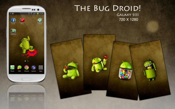 The Bug Droid by felixufpe
